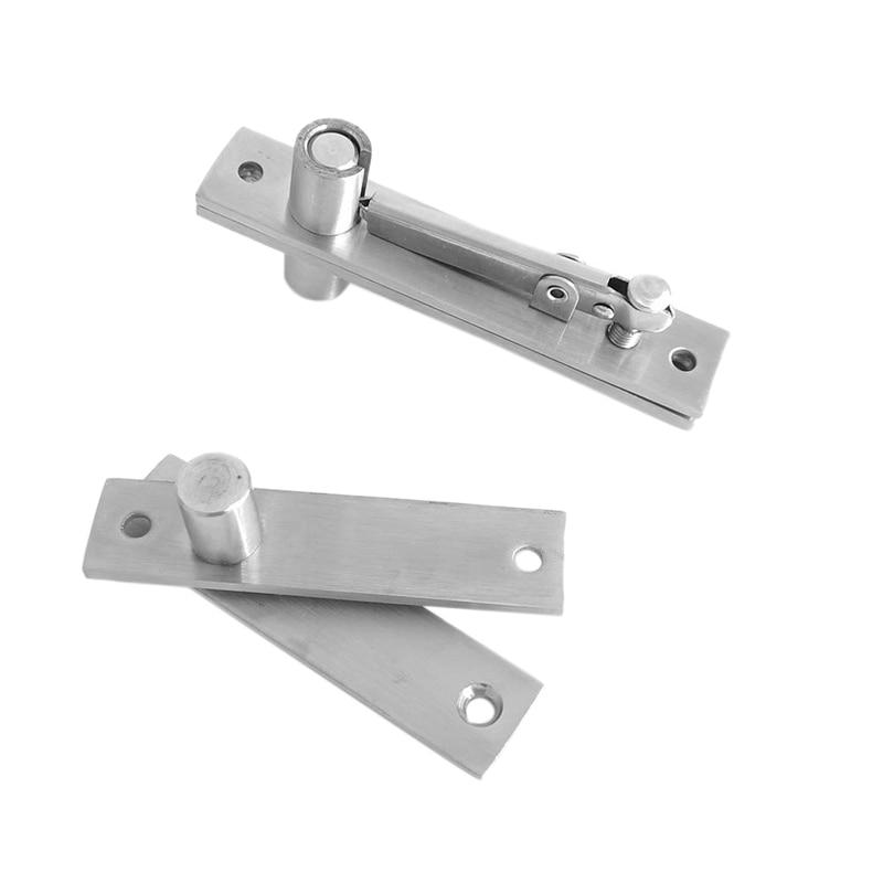 Stainless Steel Pivot Door Hinge Heavy Duty Pivot Hinge for Wood Doors 360 Degree Shaft Stainless Steel Murphy Door Pivot Hinge