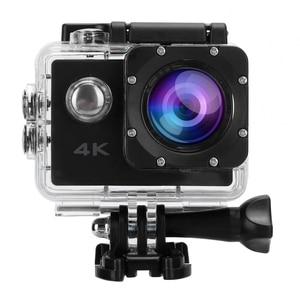 Экшн-камера 4K Спортивная мини-камера водонепроницаемая широкоугольная видеокамера для велосипеда наружная камера для велосипеда