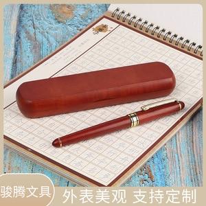 Wood mahogany pen office supplies gifts stationery signature wood pen custom