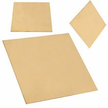 1PC NEUE Messing Metall Blatt Platte 1mm x 100mm x 100mm für Metallbearbeitung Handwerk DIY