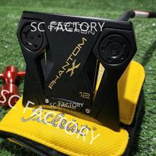 Livraison gratuite FedEx. TlTLElST Scotty Golf Putters Phantom X12 or doré crâne Cameron Golf Putter Club Putters Clubs Golf Club
