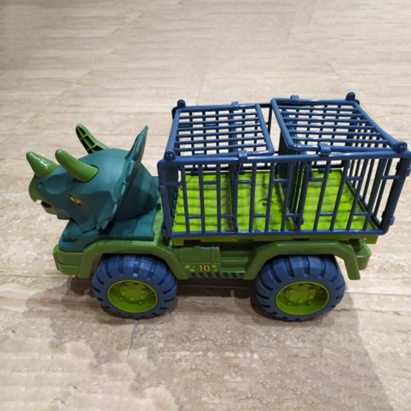 Автомобильный игрушечный динозавр, транспортный автомобиль-переносчик, грузовик, игрушечный автомобиль, игрушечный экскаватор для мальчи...