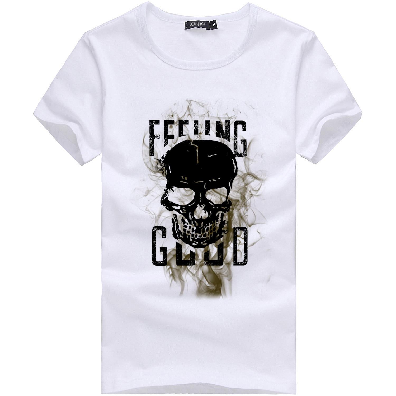 2019 männer Druck Buchstaben Tees Hemd O Neck Casual Plus Größe Kurzarm T Hemd Neue Mode Streetwear Harajuku Bluse BL5