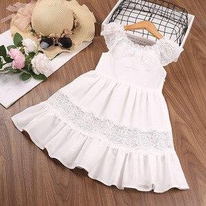 Girl Dress Dress Girl Summer 2021 New Toddler Dress Lace Little Flying Sleeves Skirt Dress Up Girl Dresses For Girls 2T-6T