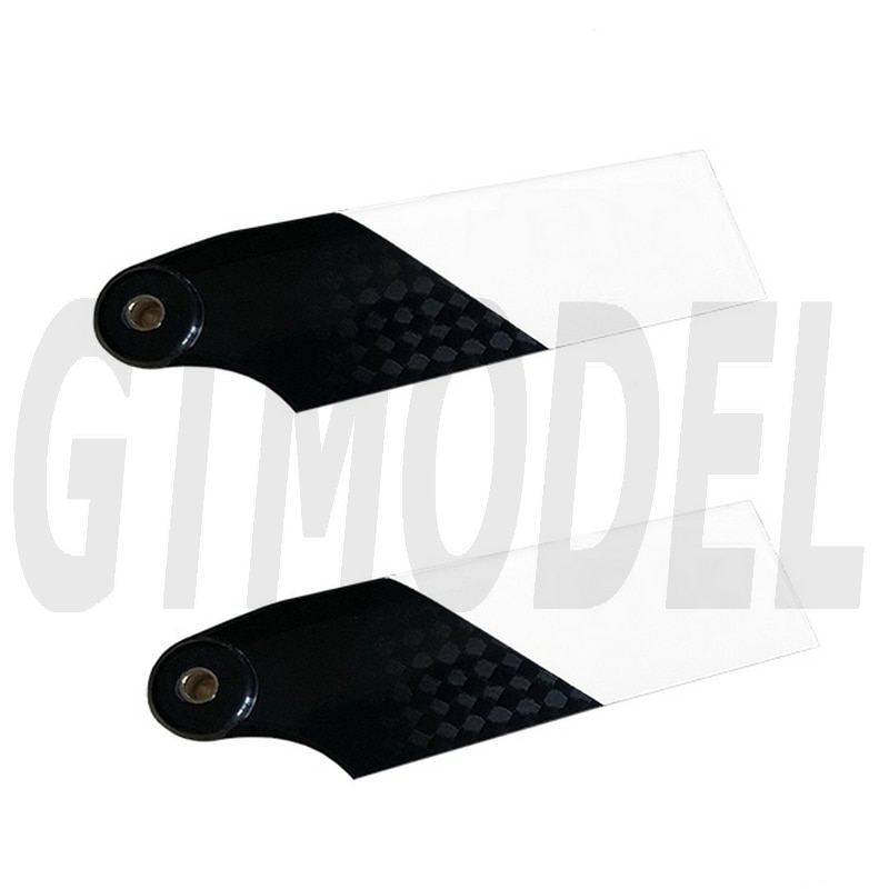 """95mm 105mm Carbon Fiber Tail Rotor Blade for Rc Helicopter """"falcon"""" 550mm main blade carbon fiber blade for t rex 550 gaui kds agile alzrc sab550 xlpower550 rc helicopter"""