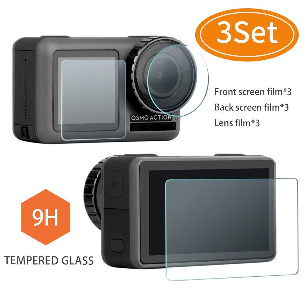 Protector de pantalla para Osmo Action, película protectora de lente, cubierta de...