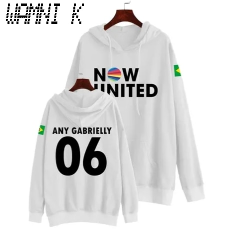WAMNI 2020 Now United Hoodie Sweatshirts Men Women Any Gabrielly 06 Brasil Flag Pullover Unisex Harajuku Tracksui