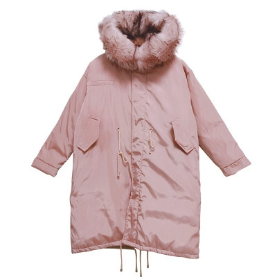 Winter Long Maternity parka Coat for Pregnant Women Winter Warm Pregnacy Down Jacket with Waist Belt Fashion Outerwear Overcoat enlarge