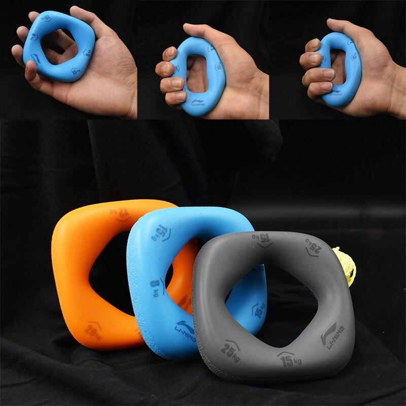 Li Ning silikonowy uchwyt wzmacniacz łatwe do przenoszenia siła ręki odzyskiwanie mięśni chwytak trener palec sprzęt do ćwiczeń