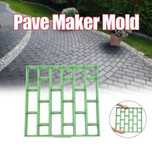 500X500X45Mm Grote Diy Pave Maker Mold Plastic Tuin Steen Oprit Bestrating Brick Mold Pp Tuin huis Vloertegel Schimmel