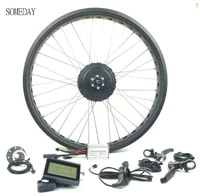 someday electric bicycle rear cassette 20 26 inch gear hub motor 36v48v 350w e bike snow bike with lcd3 display