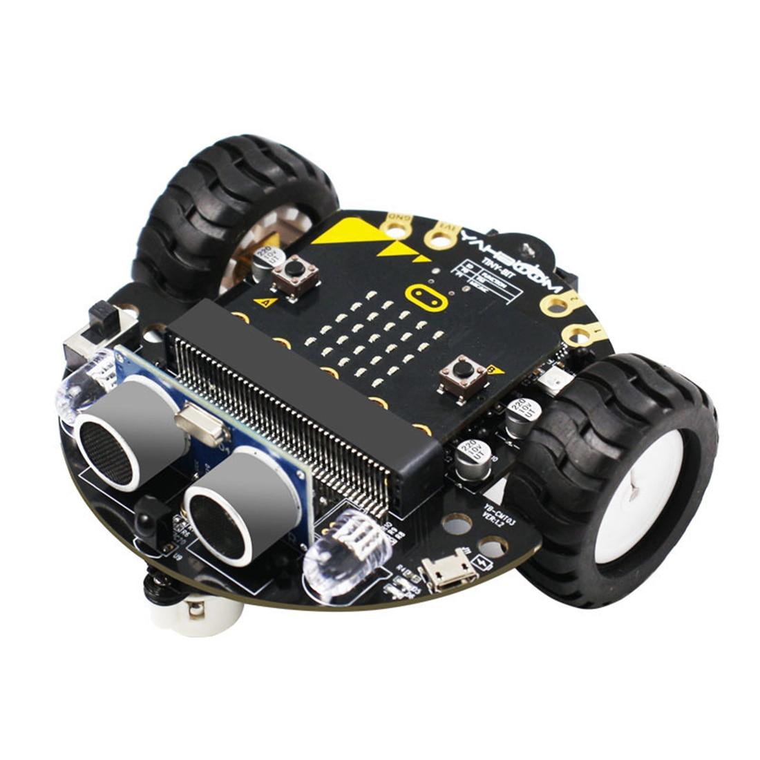 مجموعة تعلم ذكية وقابلة للبرمجة لتجتنب العقبات ، بدون لوحة رئيسية ، للروبوت الصغير: Bit ، DIY