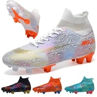 2021 new football shoes chuteira futebol cleats soccer shoes sneakers men soccer boots outdoor athletic futbol parent kid shoes