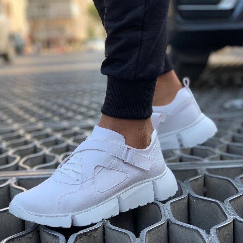 Chekich tênis para homem casual confortável flexível moda couro casamento ortopédico sapatos de caminhada calçados esportivos para homens unisex conforto leve tênis tênis de corrida respirável zapatos hombre ch071
