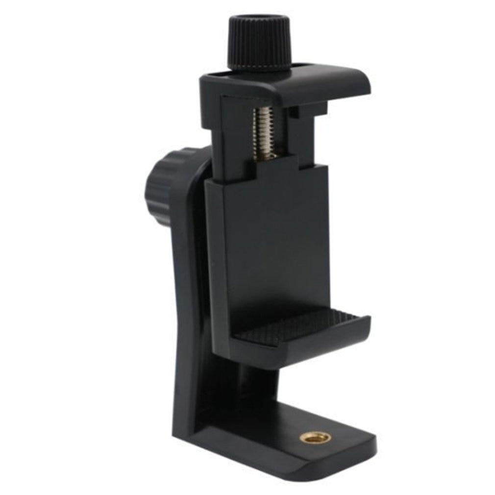 Teléfono adaptador de montaje para trípode soporte Clip soporte Vertical y horizontal Grabación de Vídeo para android Iphone teléfonos inteligentes LESHP