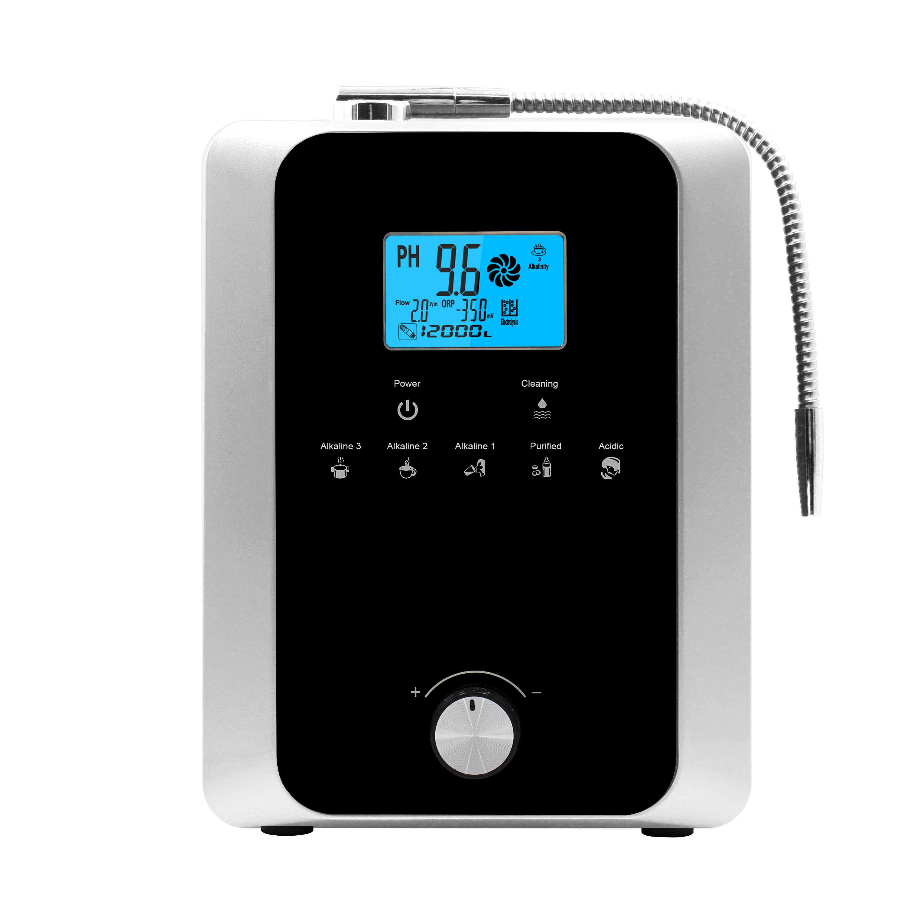 new product commercial alkline water ionizer enlarge
