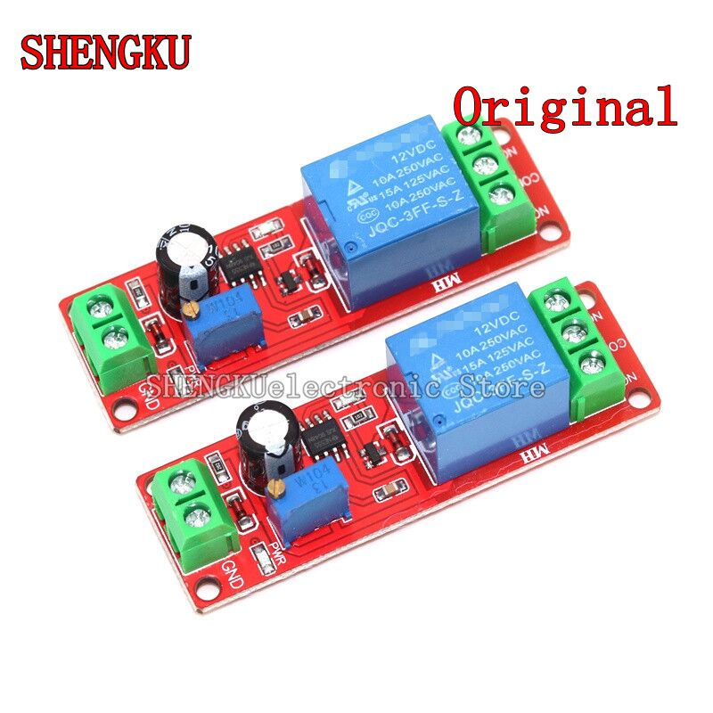 100%new and original hhs5r st3pr c lin time relay cyclical delay 6s 60s 10s 10min 30s 30min 60s 60min Delay relay time adjustable module NE555 Monostable switch Shielding delay power switch 0~10S DC 12V