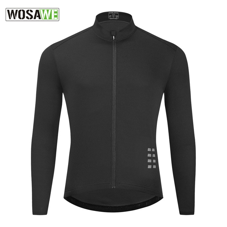 WOSAWE Men's Cycling Motorbike Jerseys Breathable Bike Shirts Quick Dry Mountain Bicycle Motocross Jersey Bicycle Coat Jackets enlarge