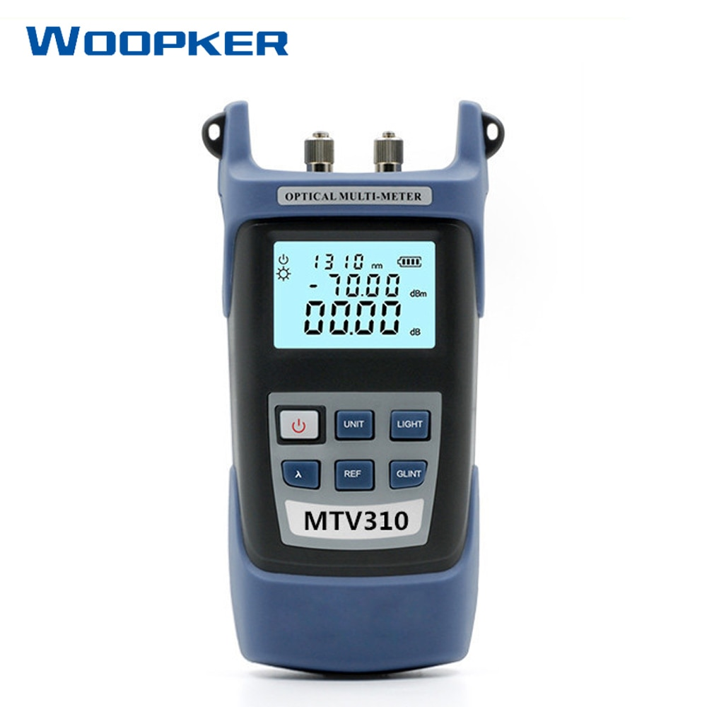 2 In1 Fiber Optical Power Meter -70 + 3dBm With 5km Laser Source Visual Fault Locator Fiber Optic Cable Tester