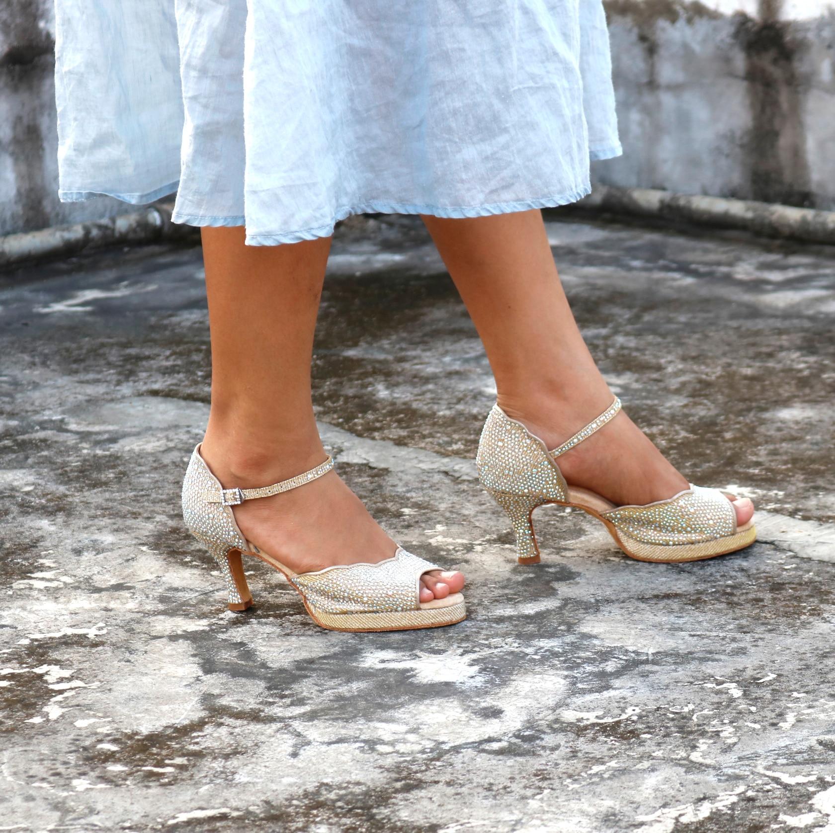Женские туфли для бальных танцев, женские туфли для сальсы, профессиональные туфли для танго и латиноамериканских танцев, стильные туфли на... туфли berkonty туфли