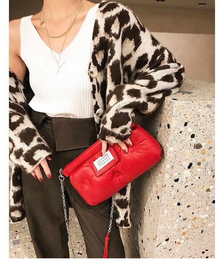 leopard print Women Cardigans Sweater V neck Solid Loose Knitwear Single Breasted Casual Knit Cardigan Outwear Winter enlarge