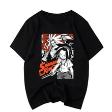 Shaman King Koreaanse Stijl Tee Shirt Femme Kawaii Streetwear Tshirt Grappige Print Plus Size T-shirt Vrouwen Kleding Plus Size 2020