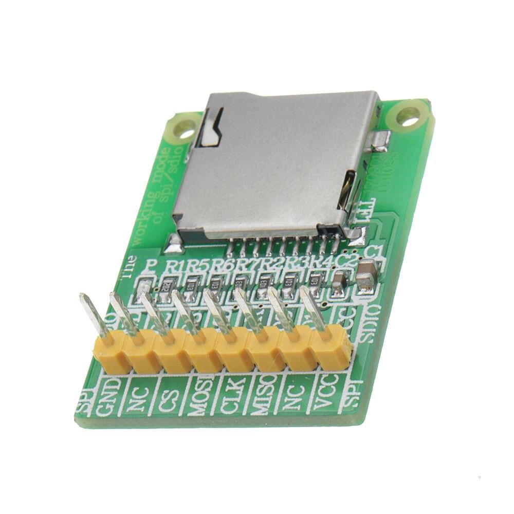 3.5V / 5V Micro SD Card Module TF Card Reader SDIO/SPI Interface Mini TF Card Module