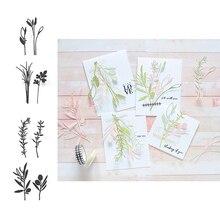 Тимьян розмарин оливковая ветка петрушки режущие штампы для резки металла пресс-форма для diy скрапбукинга бумага для изготовления открыток ремесла Новинка 2019