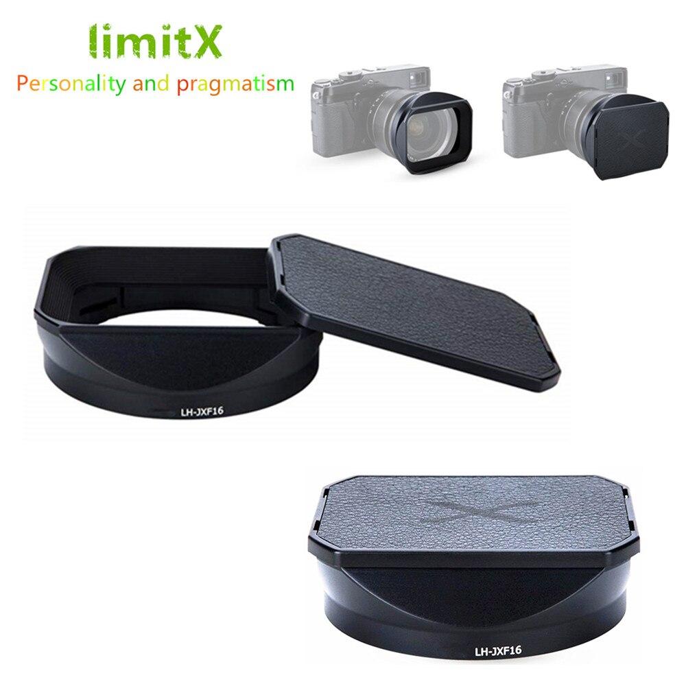 Байонетная металлическая бленда объектива для Fuji Fujifilm Fujinon объектив XF 16 мм F1.4 R WR заменяет LH-XF16 бленду объектива