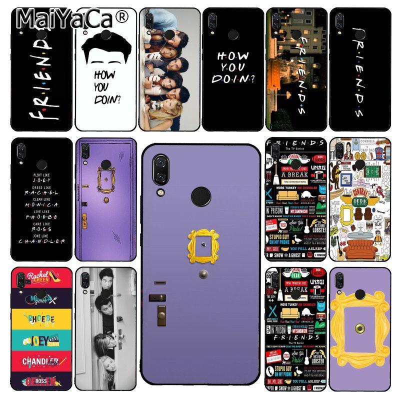 Чехол для телефона MaiYaCa Hot Friends Tv show door Для Xiaomi Redmi8 4X 6A S2 Note8T 5Plus Note5 7 Note8Pro
