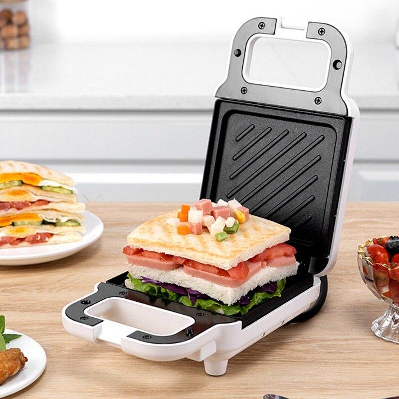 650W Sandwich Maker no palo eléctrico desayuno Mini máquina tostadora multifunción Sandwichera...