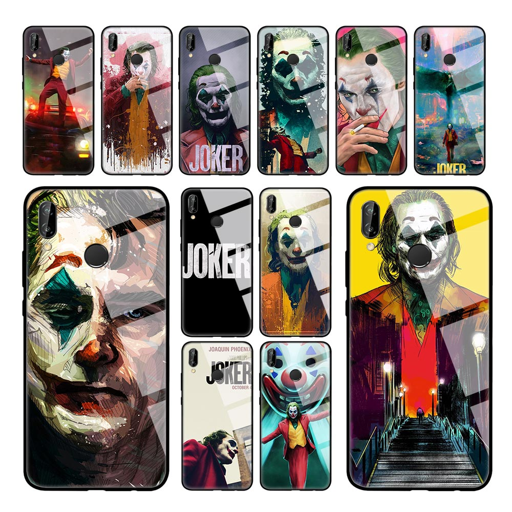 Funda de película Joker para Huawei P20 P30 P10 Lite Mate 30 20 10 Pro P Smart 2019 carcasa de vidrio templado