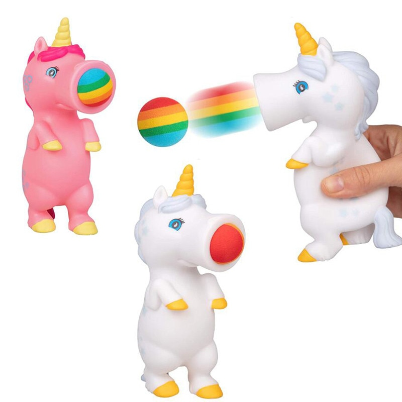 2020 Hot Kinder Lustige Squeeze Spielzeug Kinder Kreative Puppen Stress Relief Spucken Ball Tier Schießen Spielzeug Kinder Amüsiert Squeeze Spielzeug