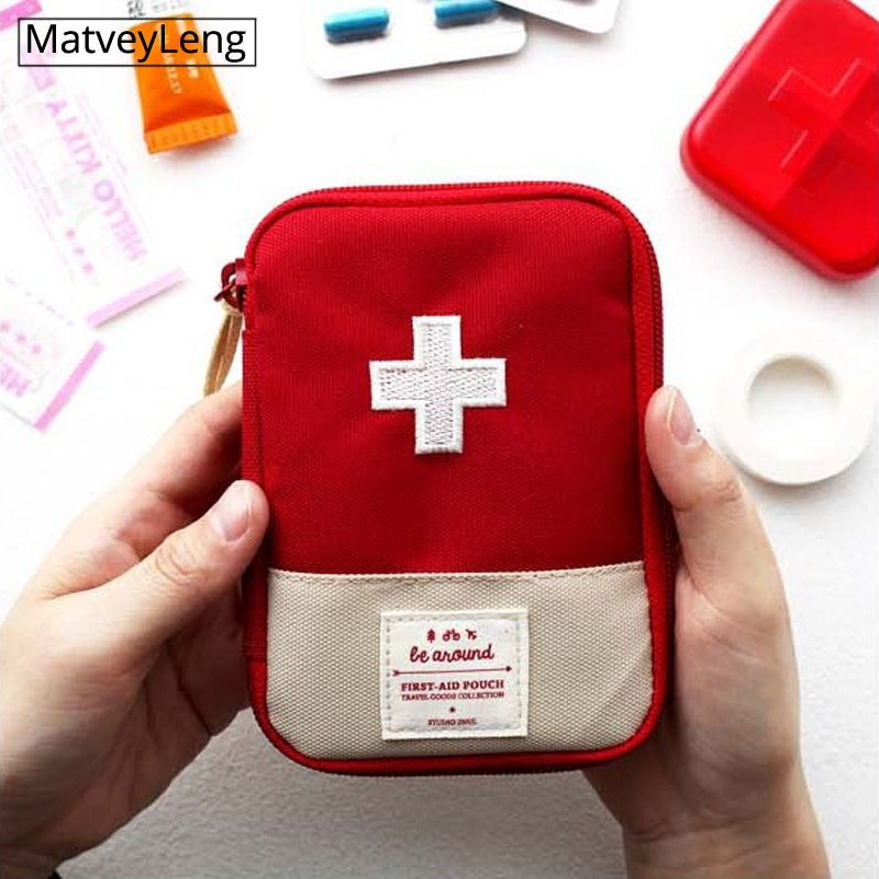 Portable travel medicine bag, medicine bag, household first aid small medicine bag, emergency bag medicine storage tintinalli s emergency medicine just the facts