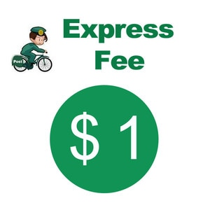 2 USD Extra Fee/cost just for the balance of your order/shipping cost ,