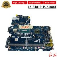 799561-501 799561-5601 799561-5001 FOR HP 450 G2 440 G2 Laptop Motherboard ZPL40 ZPL50 ZPL70 LA-B181P I5-5200 Mainboard