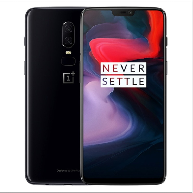mobile phone OnePlus/OnePlus 6.28-inch full Netcom version, 6GB+64GB, dual rear cameras, facial fingerprint recognition