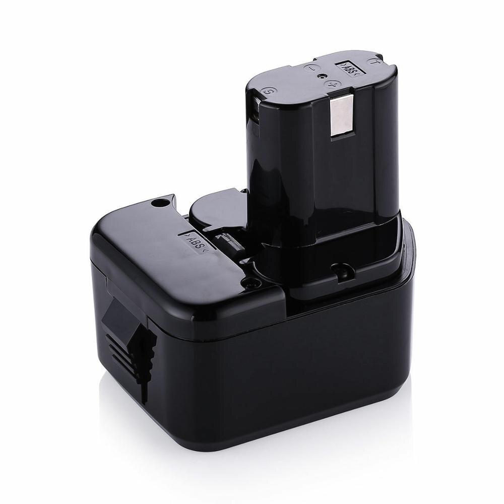 12V 3Ah Ni-CD Bateria Estilo Pod para HITACHI EB1212S EB1214L EB1214S EB1220BL Broca WR12DMR CD4D DH15DV C5D DS 12DVF3 chave de fenda