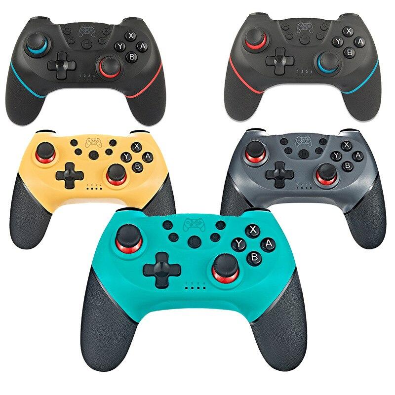 Joystick do controlador do jogo sem fio para nintendo switch ns pro console joypad/pc acessórios controle suporte bluetooth