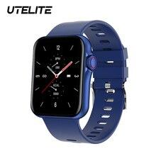 UTELITE 2021 Смарт часы D06 для мужчин женщин 1,6 дюймов вызовов через Bluetooth Ip67 Водонепроницаемый часы кровяное Давление монитор Pk HW12 HW16 HW22