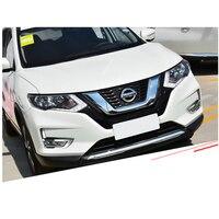 For Nissan X TRAIL  Xtrail T32 Rogue 2014 -2020 Foglight Reflector ABS Chrome Rear Fog Light Lamp Cover Trims