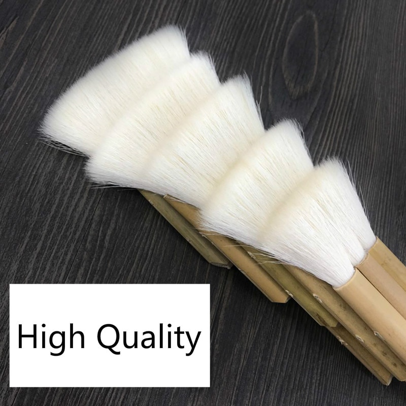 Wool Paint Brush Goat Hair Joint Brush Wooden Handle Watercolor Acrylic Oil Paint Brushes for Painting Art Supplies enlarge