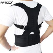 Aptoco thérapie magnétique Posture correcteur orthèse épaule dos soutien ceinture pour bretelles et Supports ceinture épaule Posture US Stock
