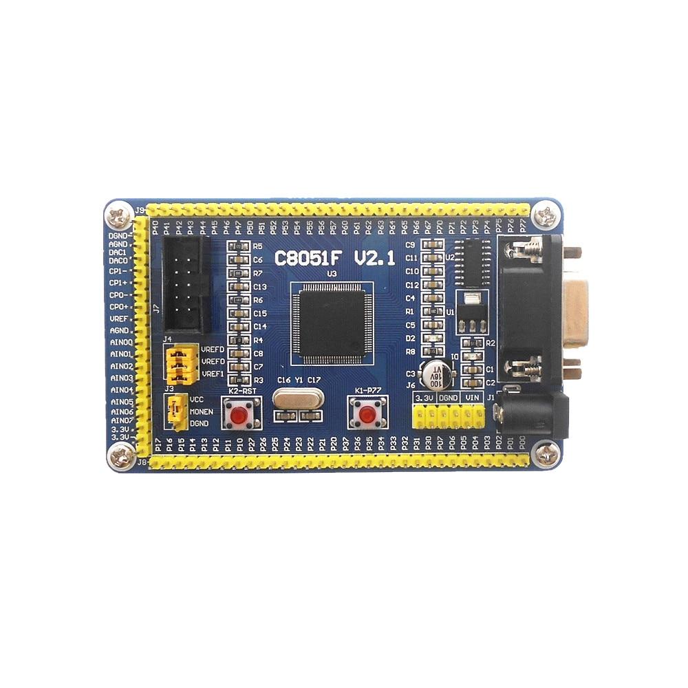 C8051F020 C8051F120 C8051F040 tablero de desarrollo tablero de sistema pequeño tablero de aprendizaje