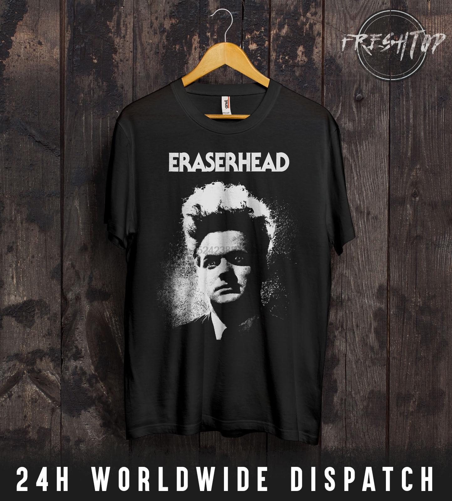 Camisa de borracha t david lynch culto filme de terror twin peaks presente S-XXXL