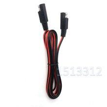 Connecteur SAE de harnais de fil de déconnexion rapide de câble dextension de SAE à SAE 100CM / 200CM