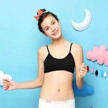 10Pc/lot Teen Girls Underwear Soft Padded Cotton Bra Young Girls for Bra 8-18Y