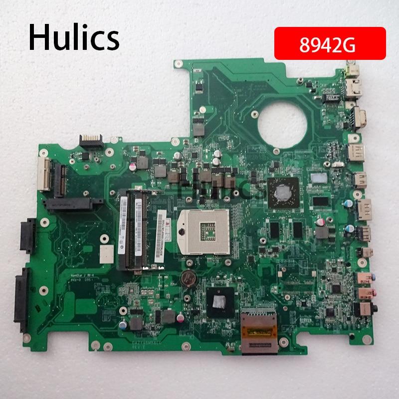 Hulics Original para Acer asipre 8942 8942G placa base de computadora portátil DDR3 MBPNS06001 MB PNS06.001 DAZY9BMB8E0 Tablero Principal