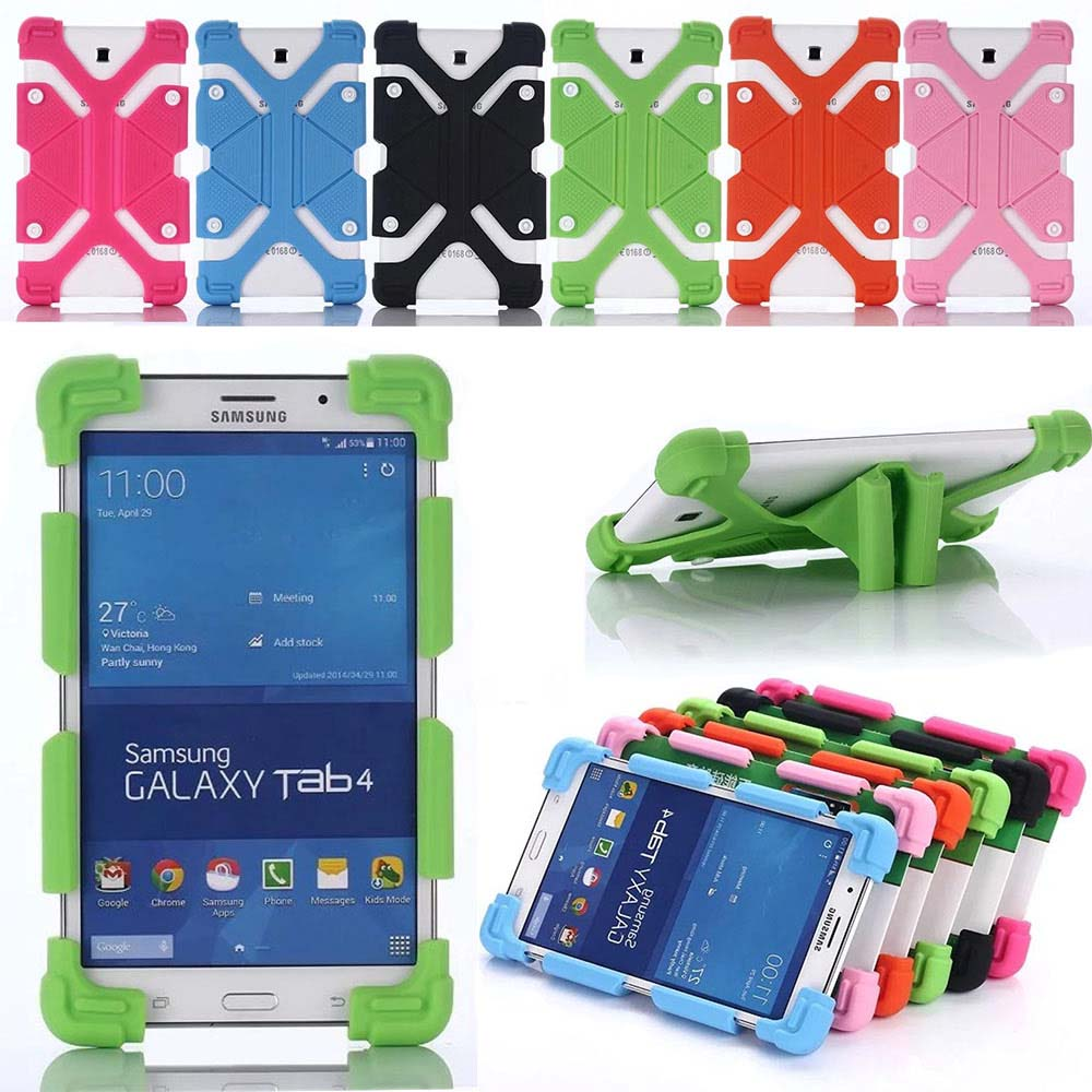 """Детский безопасный универсальный силиконовый чехол для ARCHOS Core 101 3g V2 Tablet для Samsung Galaxy Tab 2 3 4 10,1 A 9,7 """"A 10,1"""" чехол + ручка"""