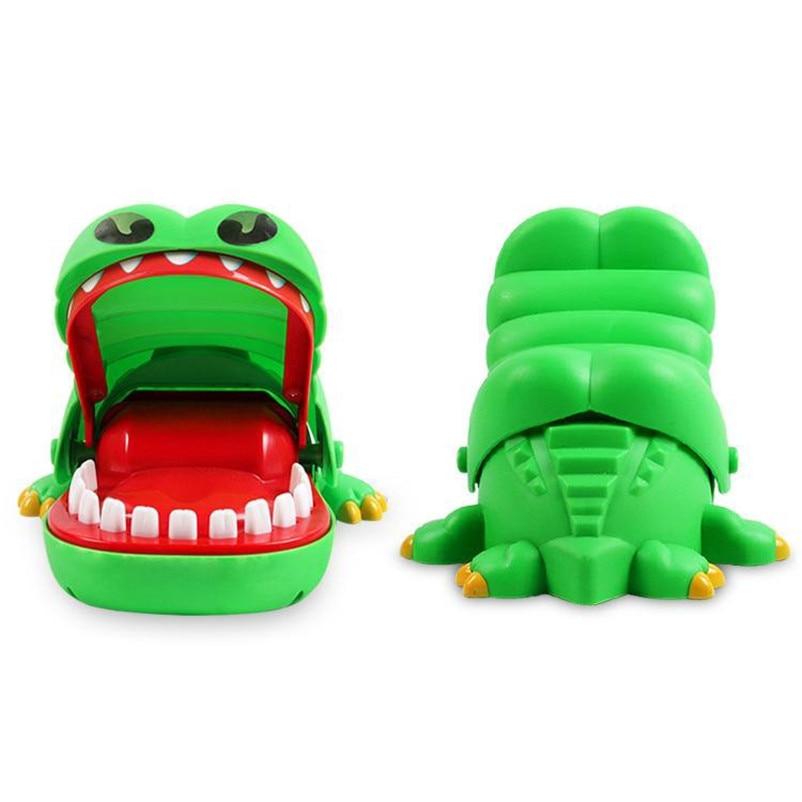 2017 hot crocodile jokes mouth dentist bite finger game joke fun funny crocodile toy antistress gift kids child family prank toy Crocodile Mouth Dentist Bite Finger Jokes Toy Funny Crocodile Pulling Teeth Toy For Children Family Bar Games